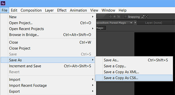 Adobe CC Compatibility with CS6 - Backsave to Older Version