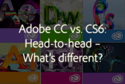 creative cloud vs cs6
