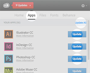 The Creative Cloud Desktop App Manager