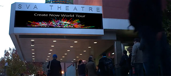 Watch the Adobe Create Now World Tour Video