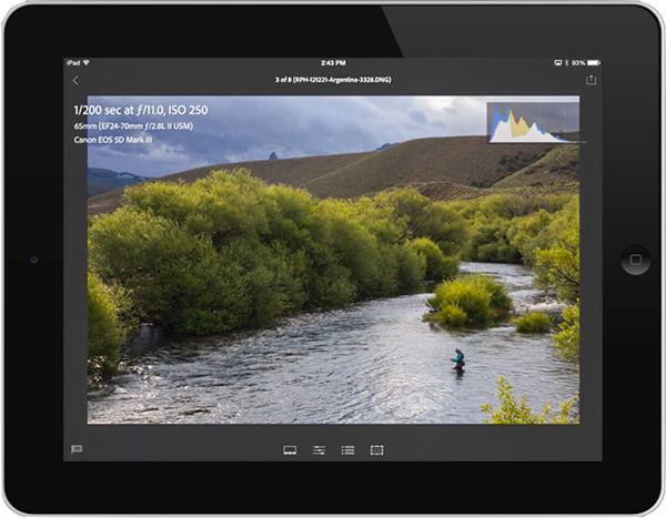 Adobe Launches New Lightroom Mobile App for iPad, Now