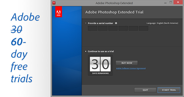 Download Free Photoshop Trial 30 Days