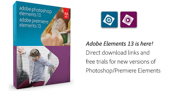 Adobe photoshop premiere elements 13 download