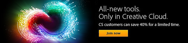 Get a Discounted Upgrade to All-New Adobe CC 2014 for a Limited Time Only!