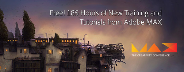 Watch 185 Hours of New Adobe MAX Classes and Sessions Online � Free!