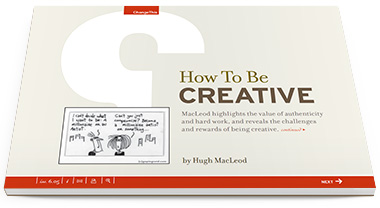 "Download ""How to Be Creative"" the Free Book!"