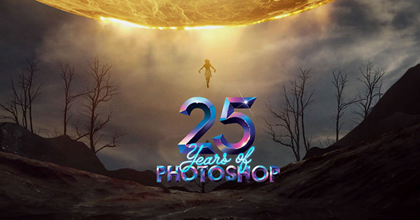 Celebrating 25 Years of Adobe Photoshop!