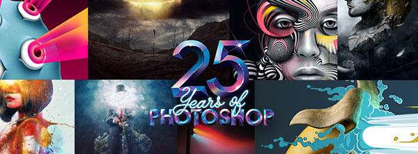 Celebrating 25 Years of Adobe Photoshop!