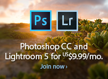 Worldwide Offer: Get New Adobe Photoshop CC 2014 plus Lightroom 5 and Mobile for $9.99 a Month (Regular Ongoing Price)
