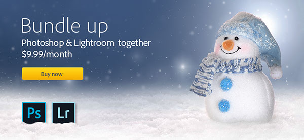 New Worldwide Offer: Get Full Photoshop CC + Lightroom 5 Desktop & More for $9.99 a Month