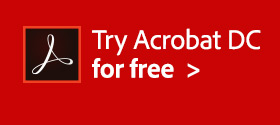 Now Shipping! Try the New Adobe Acrobat DC Pro for Free