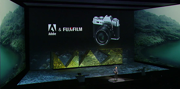 Adobe gives every MAX 2015 attendee a new high-end FUJIFILM X-T10 mirrorless camera