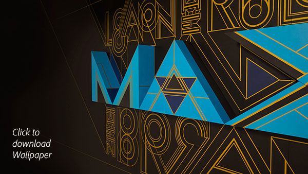 Download the Popular Adobe MAX 2015 Wallpaper (Full-Sized Hi-Res for Your Desktop)