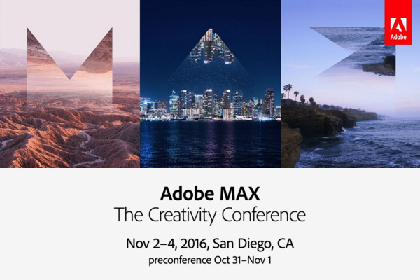Save $300 with the Adobe MAX 2016 Early Bird Discount!