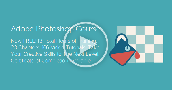 Get 13 Hours of Adobe Photoshop Training. 23 Chapters. 166 Video Tutorials. Take Your Creative Skills to the Next Level!