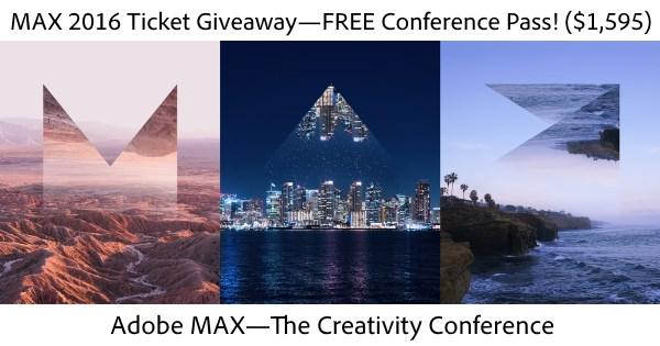 Adobe MAX 2016—The Creativity Conference: Learn More