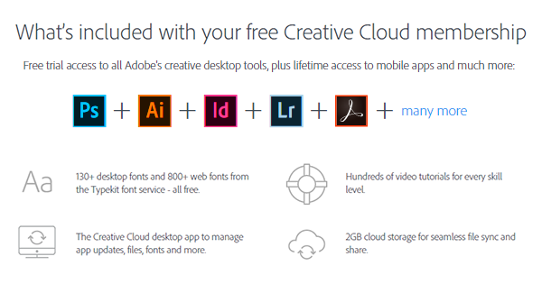 creative-cloud-free-level-membership