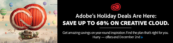 Adobe Black Friday & Cyber Monday Deals: Save Up to 68% on Creative Cloud!