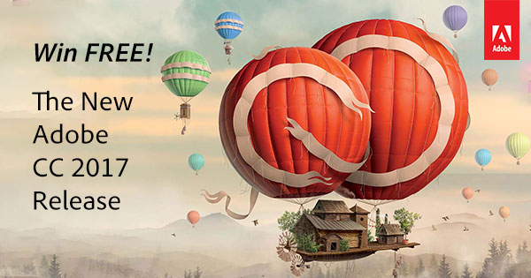 What's Included in this Adobe Giveaway? See All the New CC 2017 Tools You Get with Creative Cloud