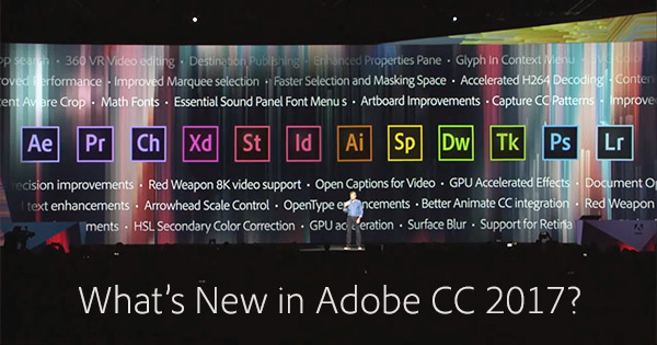 what s the difference between new adobe cc 2017 vs cs6 5 4 3