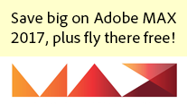 Get New Adobe MAX 2017 Promotion Code - Plus Fly to Vegas for Free!