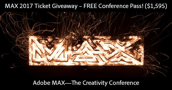adobe-max-2017-free-ticket-giveaway