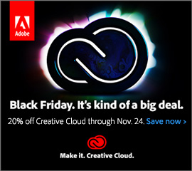 Adobe Black Friday Offer Is Here: Get a 20% Discount on Creative Cloud 2018