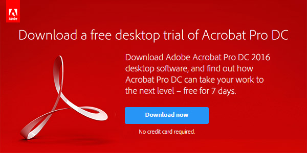 download free trial adobe pdf editor