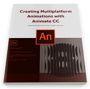 Download the Free Adobe Animate CC Digital Workbook & Assets!