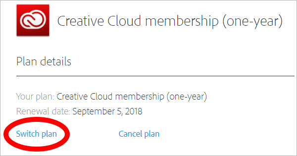 How to Switch to an Prepaid Annual Creative Cloud Plan and Get the Discount