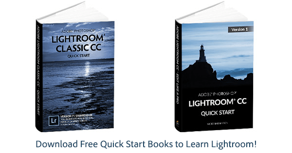 Download Free Quick Start Books to Learn Lightroom