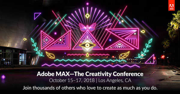 Save $400-$500 on Adobe MAX 2018!