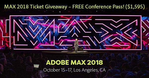 Adobe MAX 2018—The Creativity Conference: Learn More!
