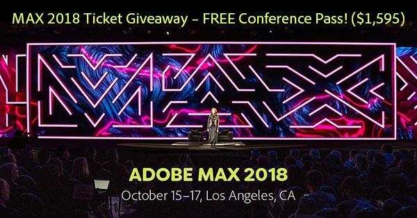 Adobe MAX 2018—The Creativity Conference: Learn More!