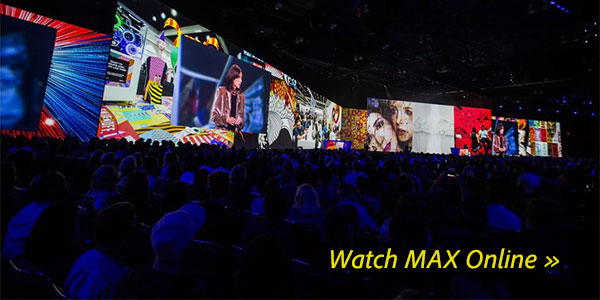 Watch the Adobe MAX 2018 Keynotes, Sessions and Tutorials Online, Free!