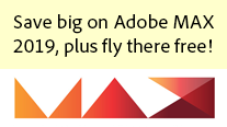 Get New Adobe MAX 2019 Promotion Code - Plus Fly to California for Free!