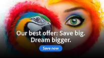 New Special Offer: Save 25-40% on the Complete Adobe Creative Cloud
