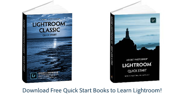 Download Free Quick Start Books to Learn Lightroom (134 Pages)