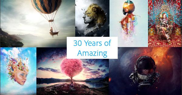 Celebrating 30 Years of Adobe Photoshop!