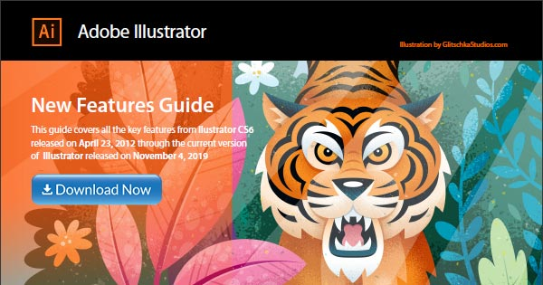 Download the Adobe Illustrator New Features Guidebook