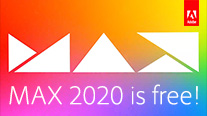 Sign Up Now for Adobe MAX 2020 – It's All-Virtual and 100% Free!