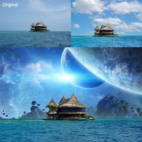 Try the mind-blowing new Sky Replacement feature in Photoshop 2021