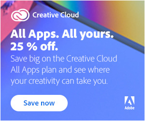 Special Offer: Save 25% on Creative Cloud 2021 in North & South America