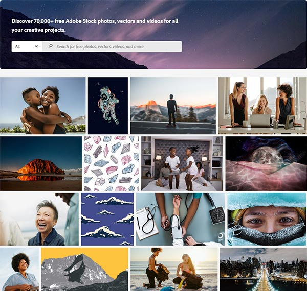 The New Adobe Stock Free Collection: Get Over 75K Assets at No Cost