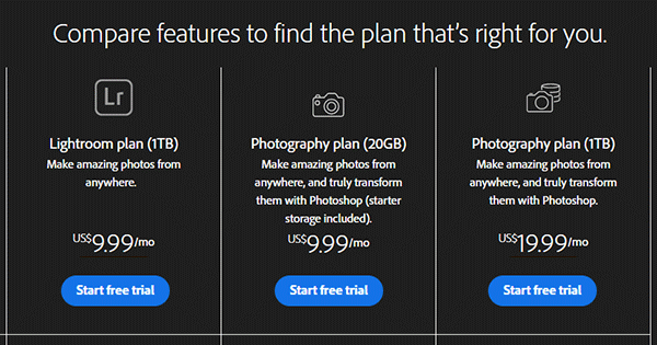 Get Photoshop + Lightroom + More for $9.99/Month with the Adobe Photography Plan
