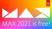 Sign Up Now for Adobe MAX 2021 – It's All-Virtual and 100% Free!