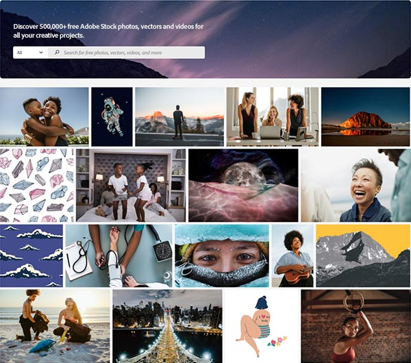 The New Adobe Stock Free Collection: Get Over 500,000 Assets at No Cost